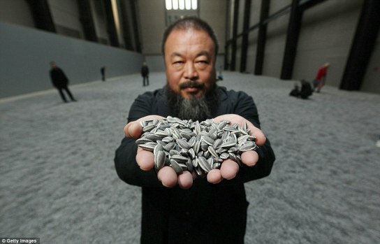 Ai Weiwei Tate Sunflower seeds exhibit