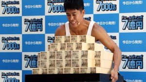 Does handing the people stacks of cash do any good?